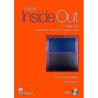 Nuevo Inside Out pre intermedio libro de trabajo sin clave: con audio CD