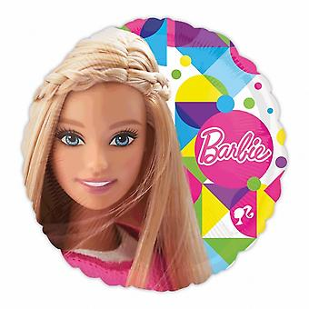 Anagram Barbie Sparkle 18 Inch Circular Foil Balloon