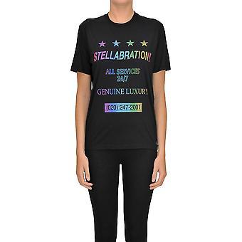 Stella Mccartney Black Cotton T-shirt