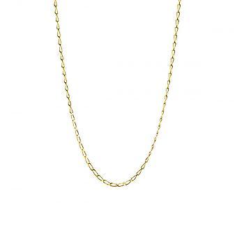 Eternity 9ct Gold 24'' Diamond Cut Rada Curb Chain
