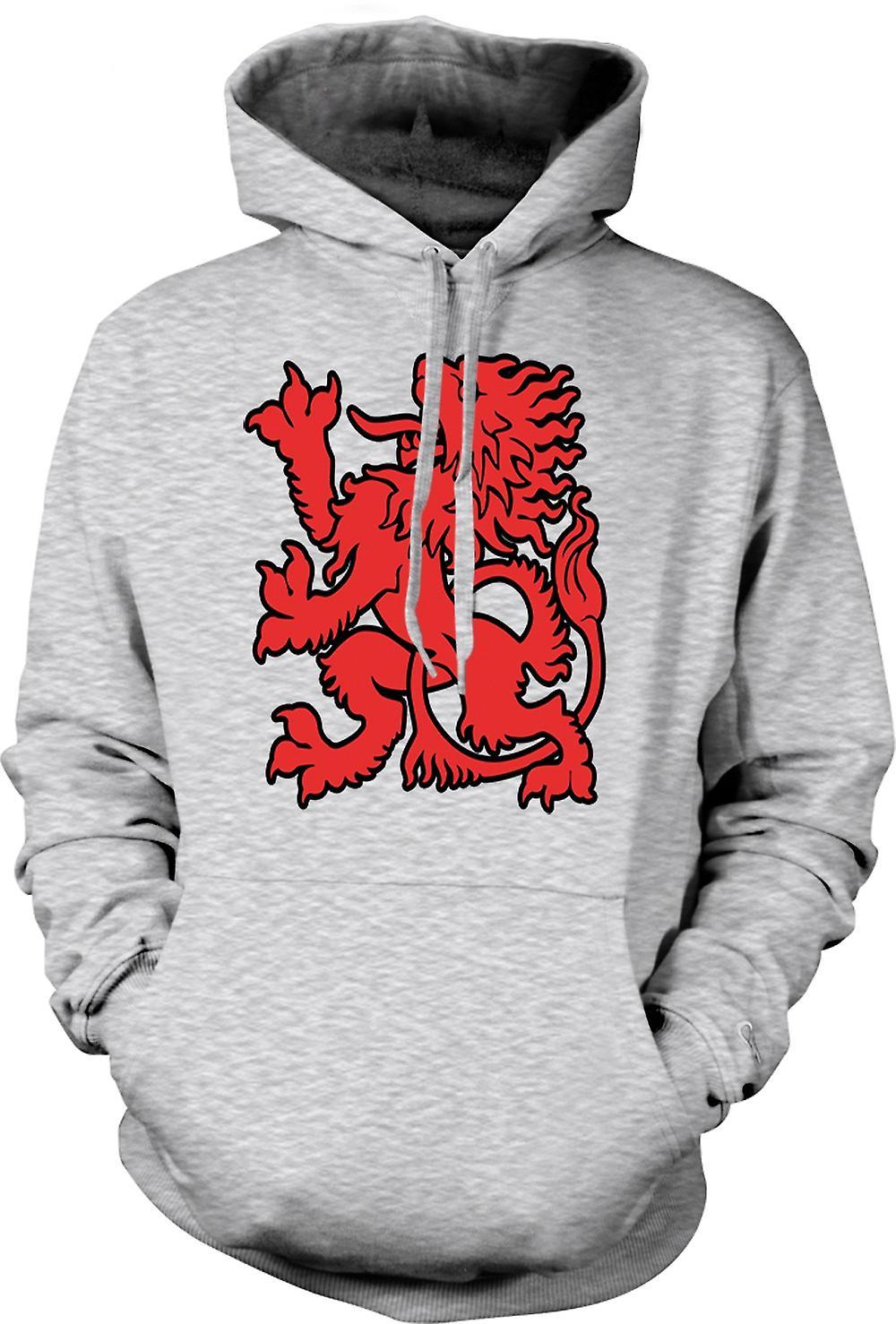 Mens Hoodie - I Love Wales