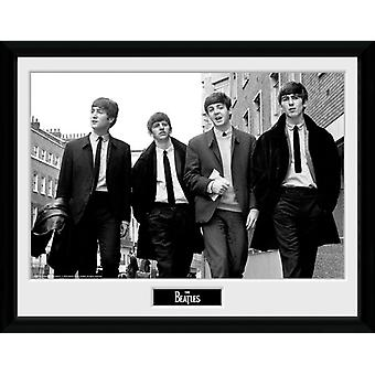 The Beatles i London indrammet Collector Print 40x30cm