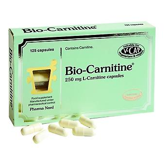 PharmaNord Bio-Carnitine 250mg Caps 125