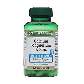 Nature's Bounty Calcium Magnesium & Zinc 100 (N4290)