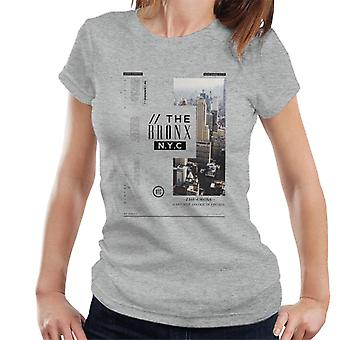 Divide & Conquer The Bronx NYC Women's T-Shirt