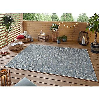 Design Indoor and Outdoor Rug Choy Azure Taupe