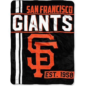 Northwest MLB San Francisco Giants micro pluche deken 150x115
