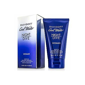 Davidoff Cool Water Night Dive Woman Sanfte Dusche Breeze Dusche Gel 150ml
