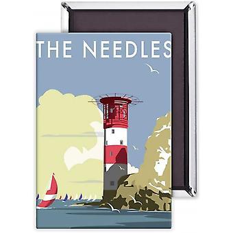 The Needles Isle of Wight fridge magnet (se)