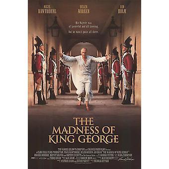 Kuningas Yrjön hulluus (1994) alkuperäinen elokuva juliste