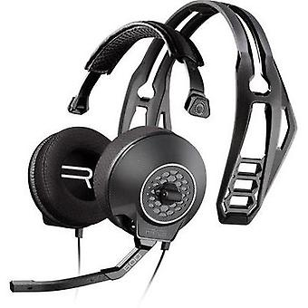 Gaming headset 3.5 mm jack Corded, Stereo Plantronics Rig 500 Over-the-ear Grey (metallic)