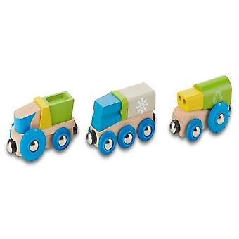 EverEarth Recycling Train (Toys , Vehicles And Tracks , Parking And Circuits)