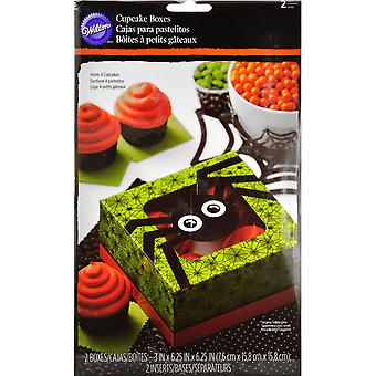 Cupcake Boxes-Jack & Ghoul Spider W9978