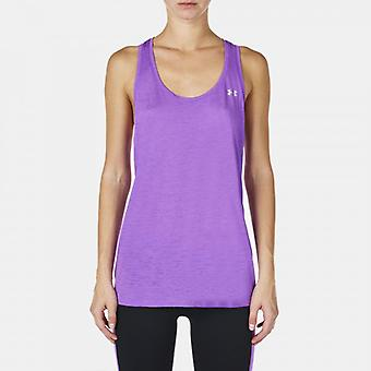 Under Armour tech tank dames paars 1275047-913