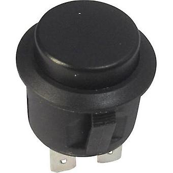 Pushbutton 250 Vac 6 A 1 x Off/(On) SCI R13-527A-02 BLACK KNOB momentary 1 pc(s)