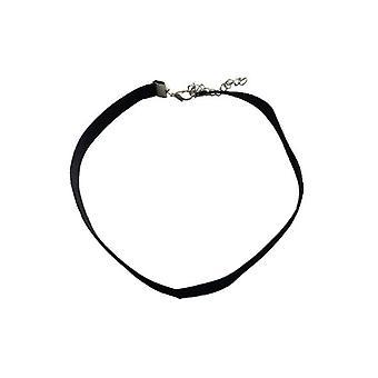 Declaración minimalista gargantilla collar de plata