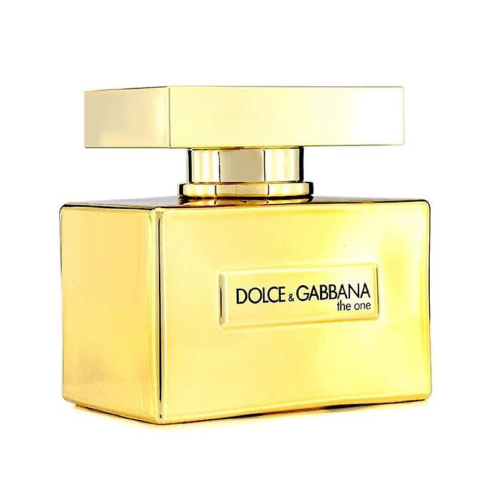 Dolce & Gabbana de één gouden Eau De Toilette Spray (2014 Limited Edition) 50ml / 1.6 oz