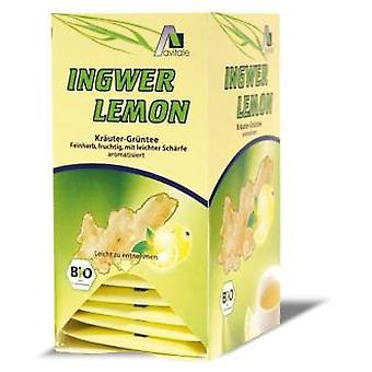Madal Bal ginger-lemon with green tea 20 tea sachets