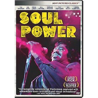 Soul Power [DVD] USA import