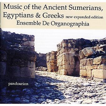 De Organographia - musik af de gamle Sumererne, egypterne & grækere [CD] USA importerer