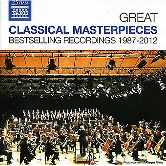Copland/Bingen/Bach/Mozart/Brahms/Rachmaninov - Great Classical Masterpieces: Bestselling Recordings 1987-2012 [CD] USA import