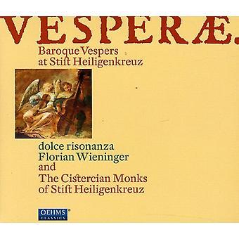 Mazak/Sances/Ebner/Battista Buonamente/Ferro - Vesperae: barok Vespers op Stift Heiligenkreuz [CD] USA import