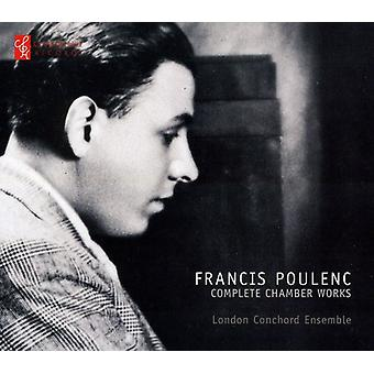 F. Poulenc - Poulenc: Komplet kammerværker [CD] USA import