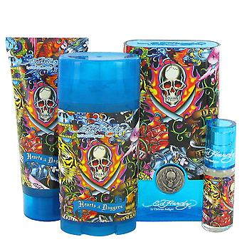 Christian Audigier Men Ed Hardy Hearts & Daggers Gift Set By Christian Audigier