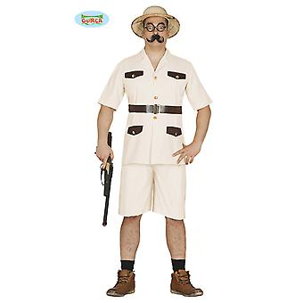 Safari costume Safari costume hunters gamekeeper men's