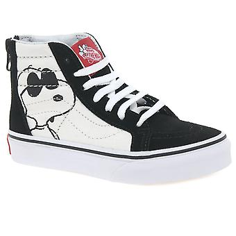 Vans Joe Cool Kids Youth Hi Top Canvas Shoes
