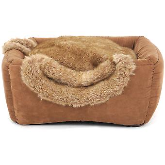 Freedog Brownie Box Cat Bed (Cats , Bedding , Beds)