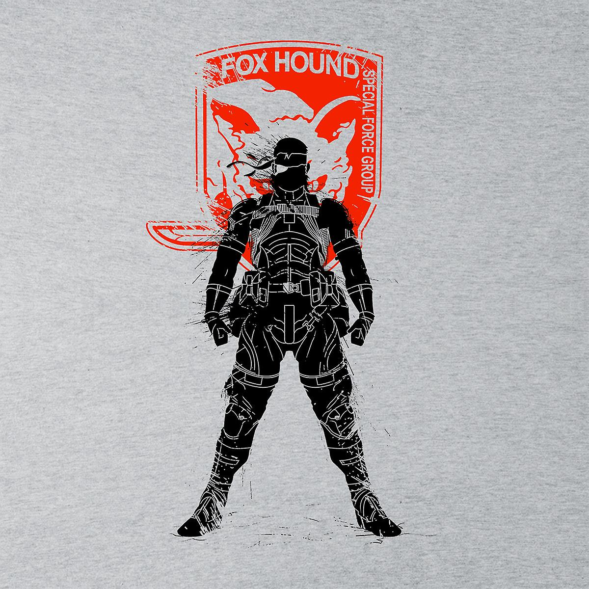 Metal Gear Solid Foxhound Big Boss Logo Men's Varsity Jacket