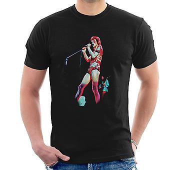 David Bowie Ziggy Stardust Hammersmith Odeon 1973 mænd T-Shirt