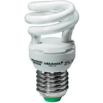 Energy-saving bulb 83 mm Megaman 230 V E27 8 W = 44 W Super warm white EEC: A Spiral shape Content 1 pc(s)