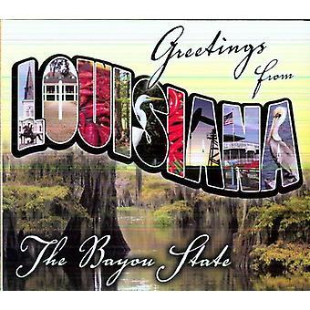 Hilsner fra Louisiana - hilsner fra Louisiana [CD] USA importerer
