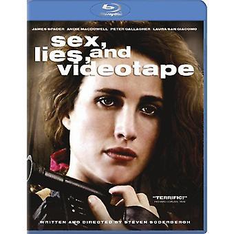 Sex lögner & videoband [Blu-ray] USA import