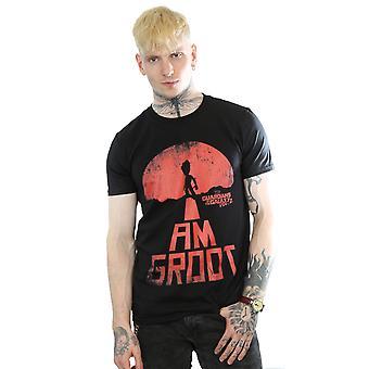 Verwonder u mannen hoeders van de Melkweg ben ik Groot rood T-Shirt