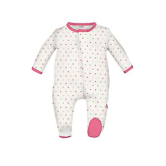 Magnificent Baby Magnetic Me™ Baby Girl Dot Footie