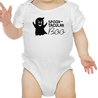Spook-Tacular Boo Baby First Halloween Bodysuit White Infant Bodysuit