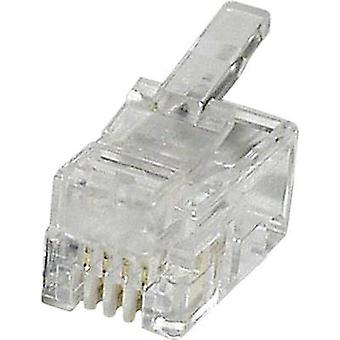N/A Plug, straight MPL44 Clear econ connect