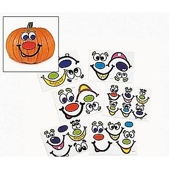 12 Monster Face Sticker Sheets - Great for Halloween Crafts