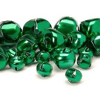 SALE -  19 Green Assorted Jingle Bells for Crafts | Craft Bells