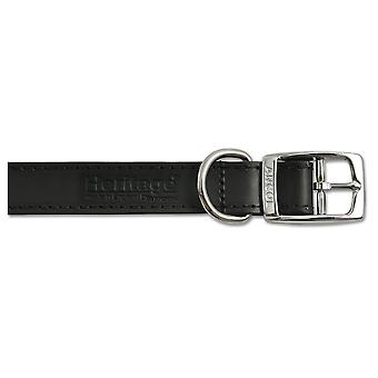 Ancol Pet Products Heritage Buckle Up Leather Dog Collar