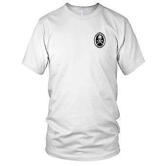 US Navy DDG-69 Milius gestickt Patch - Deck Division Herren T Shirt