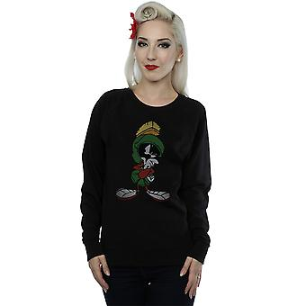 Looney Tunes Women's Marvin The Martian Pose Sweatshirt