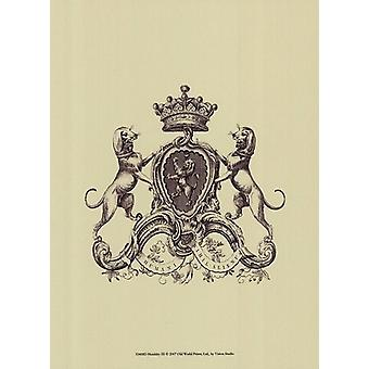 Heraldiek III Poster Print by visie studio (10 x 13)