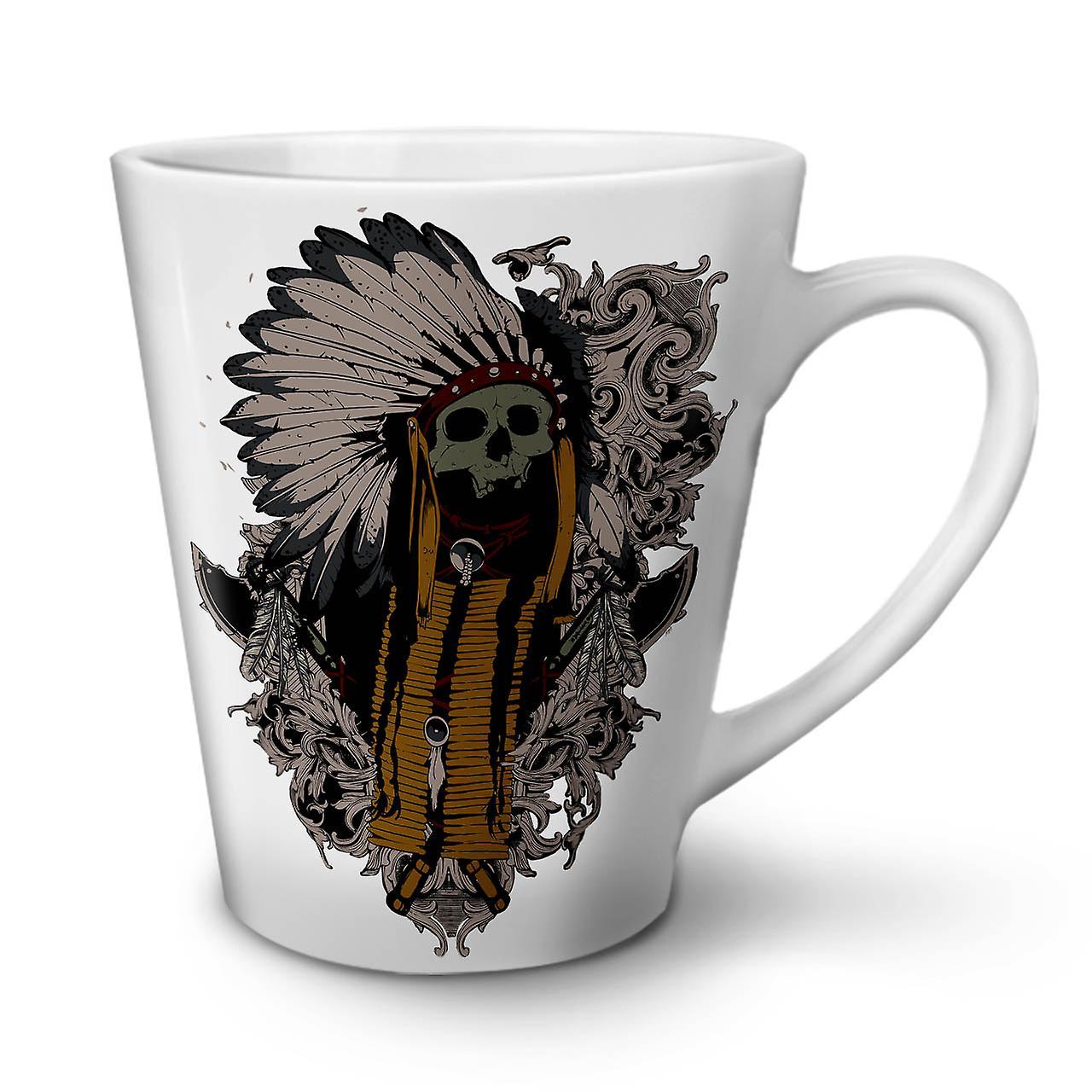 OzWellcoda Latte Céramique 12 Indien Mug Thé En Nouveau Blanc Café Américain L'art 5j4LRA