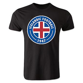 Iceland Core Logo T-Shirt (Black) - Kids