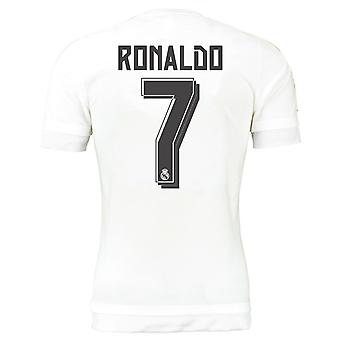 2015-16 Real Madrid Heimtrikot (Ronaldo 7) - Kids