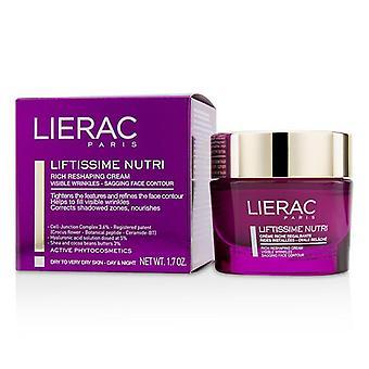 Lierac Liftissime Nutri Rich Reshaping Cream (For Dry To Very Dry Skin) - 50ml/1.7oz